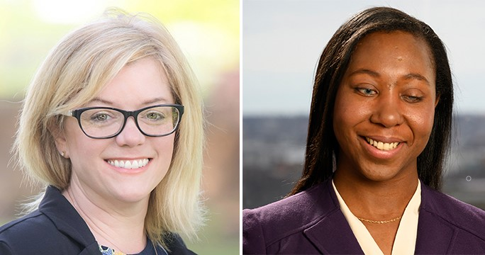 Cayuga County Legislator Tricia Kerr and Cornell University Associate Vice President for Inclusion and Workforce Diversity Angela Winfield are new trustees at Cayuga.