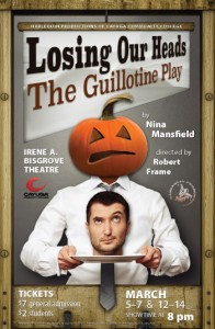 "Poster image for ""Losing Our Heads"" play"