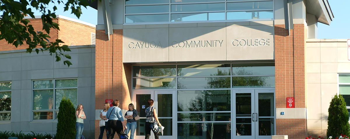 Cayuga Community College announces that students can return to campus