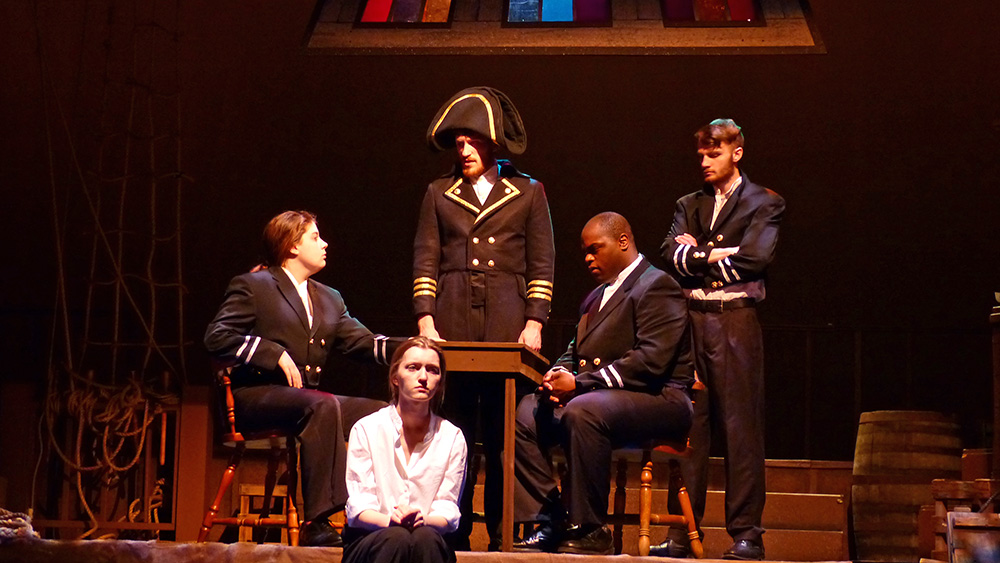 Photo from Billy Budd production