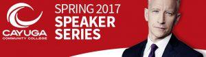 Spring Speaker Series for 2017