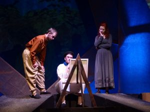 Image of students acting in a play