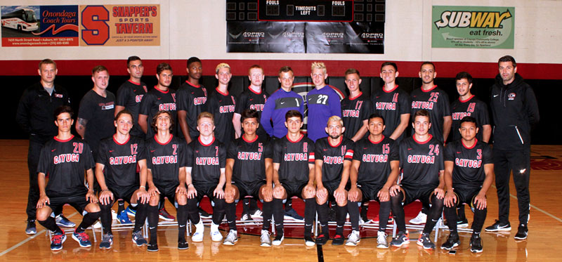 Men's Soccer Team – Fall 2017