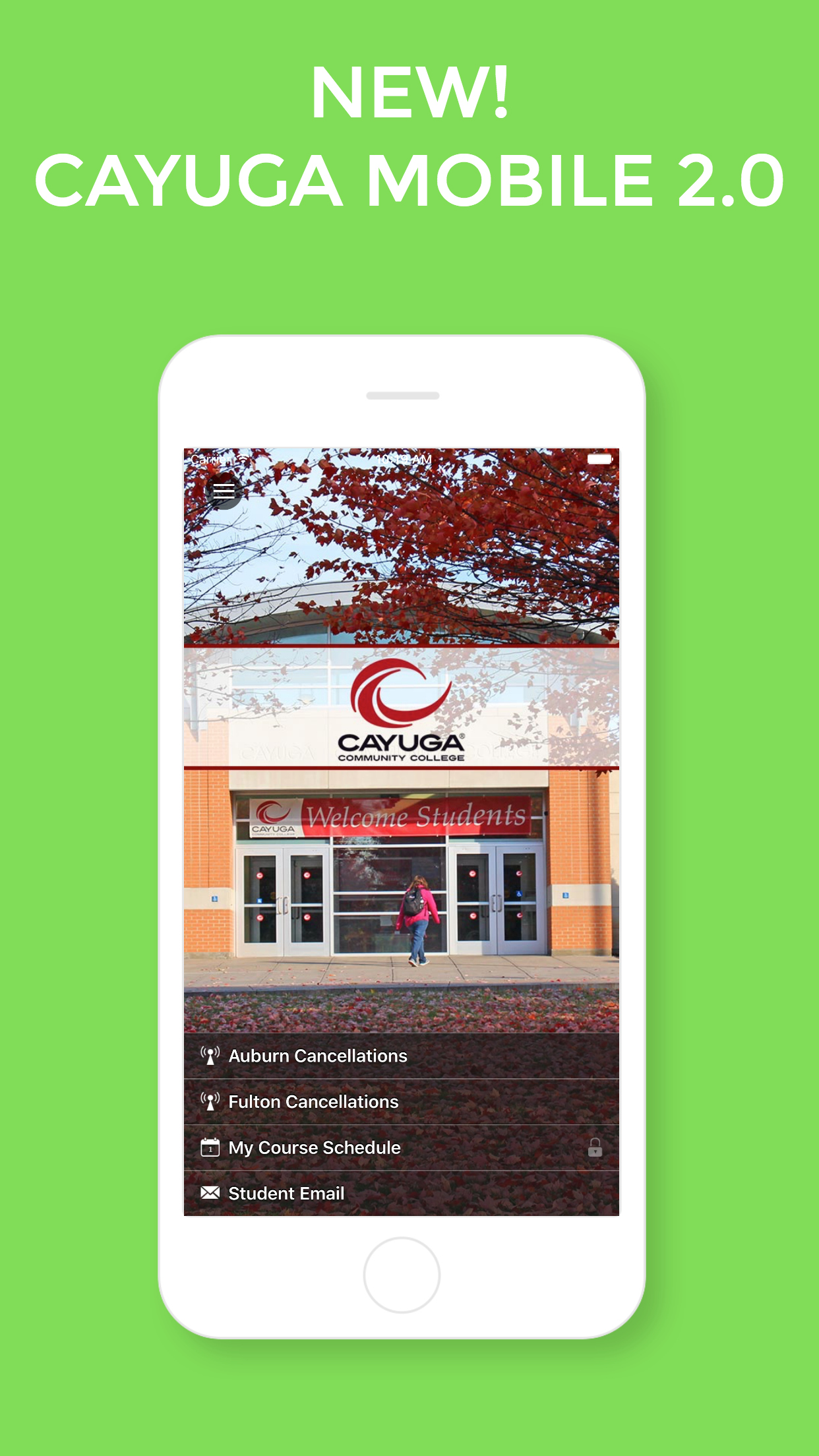 Announcing the new Cayuga Mobile application, version 2.0