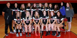 Cayuga Spartan Women's Soccer Team 2017