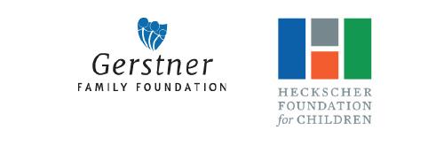 Heckscher Foundation for Children and the Gerstner Family Foundation logos