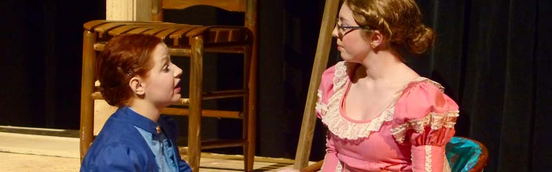 """Harlequin Productions' performances of """"Alice in Black and White"""" explored the life story of photojournalist Alice Austen"""
