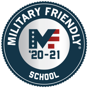 Cayuga is designated as a Military Friendly school for 2020-2021