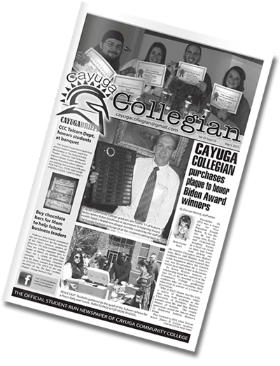 Cover of the Cayuga Collegian