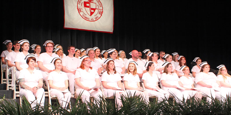 Inside Pinning Ceremony from 2019